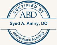 Dr Syed A. Amiry | Board Certified Dermatologist Reston VA
